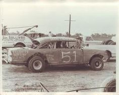 when I lived in Sweet Water & Kansas my Dad loved to go to the stock car races - I remember it wasn't much fun, you got all dirty & the smell of rubber...