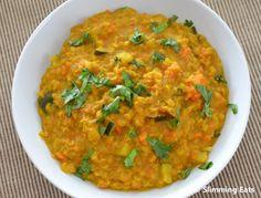 Low fat Dal - Lentil Curry: Vegetarian