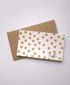 Gold stars 24 mini business card size envelopes gold and kraft eco friendly set of 12 blank mini note cards 12 recycled paper brown kraft envelopes reheart Choice Image