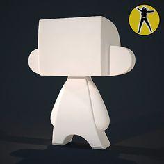 3ds max vinyl toy madl - Madl vinyl toy... by Flying Girl
