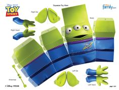 Disney Stuff · Paper Toys · Alien Toy Story http   a.family.go.com images 057ceb69a75