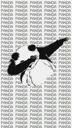 Uploaded by Enya Sanchez♡. Find images and videos about panda, wallpaper and dab on We Heart It - the app to get lost in what you love. Tumblr Wallpaper, Cool Wallpaper, Wallpaper Backgrounds, Iphone Wallpaper, Panda Love, Cute Panda, Panda Panda, Panda Bears, Panda Wallpapers