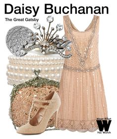 """""""The Great Gatsby"""" by wearwhatyouwatch ❤ liked on Polyvore featuring Roman, wearwhatyouwatch and film"""