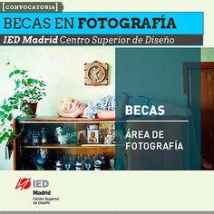 Convocatoria para becas en fotografía, IED Madrid. La convocatoria se encuentra abierta para fotógrafos de todo el mundo hasta el 3 de septiembre de 2013, para cursar dos especializaciones y un master.  Leer más: http://www.colectivobicicleta.com/2013/07/convocatoria-para-becas-en-fotografia.html#ixzz2YsxrgbGR
