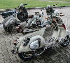 Vespa Motorcycle, Vespa Bike, Piaggio Vespa, Lambretta Scooter, Vespa Scooters, Retro Scooter, Scooter Custom, Scooter Girl, Concept Motorcycles