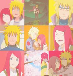 "Kushina & Minato  ""Sometimes when they say forever they mean it """
