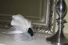 fascinator for bridesmaids and flower girls by mad-hatter