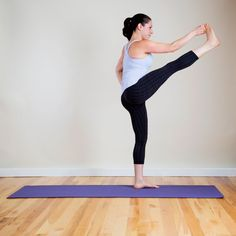 Pin for Later: Holy Hot! Yoga Sequence to Do Your Tight Pants Justice Extended Hand to Big Toe