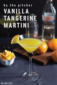 You are probably used to using vanilla while baking, but what about using it in your cocktails? When hosting a dinner party at your home, make this flavorful Vanilla Tangerine Martini cocktail. Using Finlandia Tangerine Vodka, you'll enjoy its sweet and creamy taste.