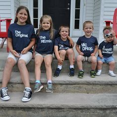 - Family Shirts - Ideas of Family Shirts Sibling Shirts, Kids Shirts, Sister Shirts, Sibling Poses, Siblings, Family Outfits, Cute Outfits, Unisex Gifts, Mothers Day Shirts