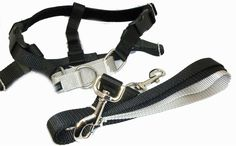 Freedom No Pull Velvet Lined Dog Harness and Leash Training Package Black Large -- If you love this, read review now : Dog harness