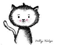Schwungübungen mit Katze Polly. Zahlen schreiben lernen für Kinder in Vorschule, Kita und Grundschule. Ein Freebie und Printable zum kostenlosen Download.