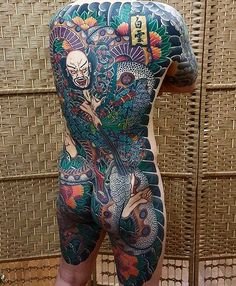 "2,268 Likes, 12 Comments - Japanese Ink (@japanese.ink) on Instagram: ""Japanese back tattoo by @baekwoon_tattooer. #japaneseink #japanesetattoo #irezumi #tebori…"""