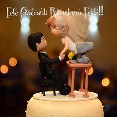Fefe Cavalcanti Biscuit em festa!! Noivinhos personalizados Orçamentos por e-mail fefecavalcantibiscuit@gmail.com