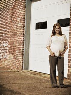 Lace Maternity Fashion