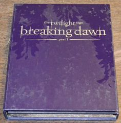 The Twilight Saga Breaking Dawn Part 1 DVD Limited Edition Prop Flower Gift Set