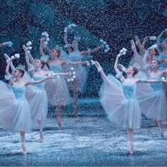 Waltz of the Snow Flakes in George Balanchine's The Nutcracker, New York City Ballet