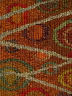 Weaving - Lost & Found - Louise Oppenheimer Tapestry