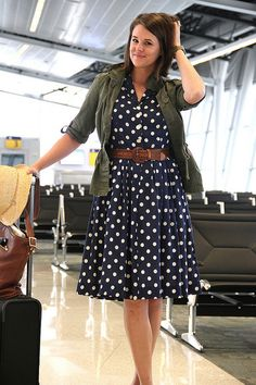 What I Wore: At the Airport by What I Wore, via Flickr