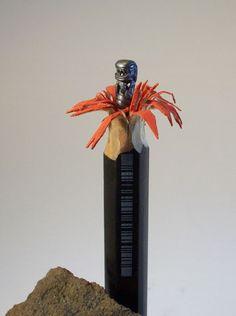 Esculturas en lápiz