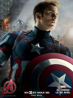 Captain America affiche perso Avengers 2