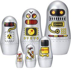 Russian Doll Robots