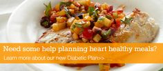 Diabetic Meal Plan Launches on eMeals! These recipes have a nutritional breakdown and help those with Type 1 and 2 Diabetes, pre-diabetics and those just wanting to eat healthier! #HeartHealthy #Diabetic #Healthy