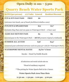 Quarry Beach Adventure Park and Water Sports | Sheboygan's Newest Attraction