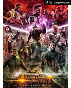 Cant wait! #avengers #infinitywar