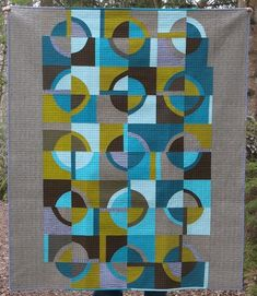 Retro - A finished quilt