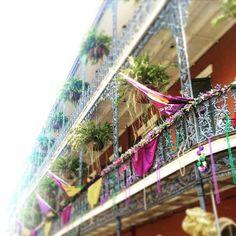 French Quarter #frenchquarter #architecture #carnival #mardigras #nola by melaniestarr88
