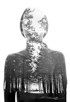AO1/AO2 - Final piece idea + Media idea - Double exposure portrait - portraits + people + people and places