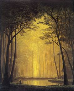 Tomás Sánchez 1948 ~ Cuban Landscape painter | The Enchanting Forests | Tutt'Art@  Fountain of youth vibes