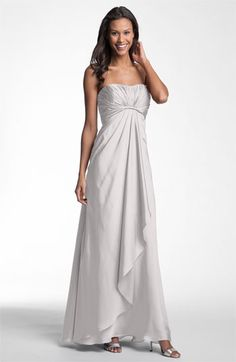 ML Monique Lhuillier Bridesmaids Strapless Gown (Nordstrom Exclusive) available at #Nordstrom