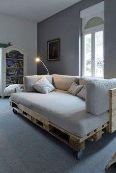 Ideas sorprendentes para hacer muebles con guacales de madera.