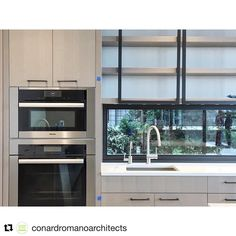 NB Design Group (@nbdesigngroup) on Instagram | Seattle Interior Design | Repost from @conardromanoarchitects of the kitchen from a Laurelhurst residence we completed