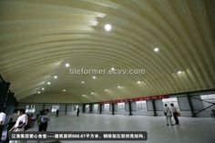 arch roof steel structure , K Span project - China ;large span steel structure warehouse;arch roof steel structure