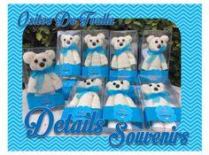 details souvenirs Facebook ositos de toalla facial