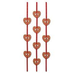 Heart Ribbon Stringer #heart #valentinesday #stringer