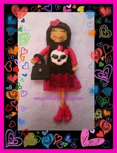 Muñeca inspirada en las monster higt