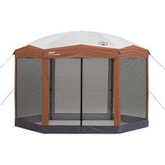 Coleman Back Home 12u0027x10u0027 Instant Screened Canopy - Walmart.com $180  sc 1 st  Pinterest & Field Nu0027 Forest™ Copper Falls 13 ft x 13 ft Tan Screenhouse Canopy ...