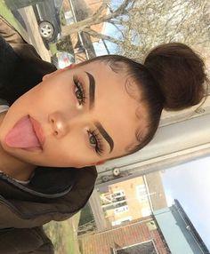 55 Ideas Makeup Baddie Looks Eyebrows For 2019 # baddie makeup 55 Ideas Makeup Baddie Looks Eyebrows For 2019 Eyebrow Makeup, Skin Makeup, Beauty Makeup, Hair Beauty, Makeup Eyebrows, Makeup Lipstick, Eyebrow Tinting, Contour Makeup, Lipsticks