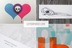Letterpress has come along way since Gutenberg invented it in the century. Since then it has gone from the only game in town to being the darling of the slow print movement. 15th Century, Letterpress, Modern Design, Illustration Art, Designers, Love, Amor, Letterpress Printing, Letterpresses