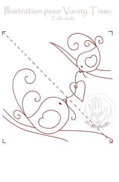 Deux petits oiseaux s'aimaient d'amour tendre.