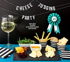 How to host a Cheese Judging Party! :)
