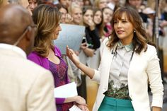 Rashida Jones talks Parks and Recreation, screenwriting and IRC on Today