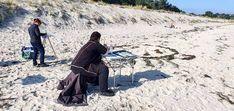 Malen am Südstrand von Göhren © Frank Koebsch (6) Baltic Sea, Bradley Mountain, Strand, Westerns, The Good Place, Good Things, Places, Bags, Rostock