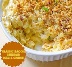 Classic Cheddar Bacon Macaroni & Cheese