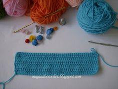 Magia Crochet: Como hacer - abrigo azul bebé (crochet)