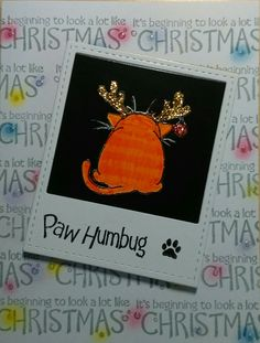 Paw humbug and it's beginning to look a lot like Christmas all by #eatcakegraphics.com